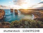 loch ard gorge  port campbell... | Shutterstock . vector #1106592248