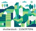 vector illustration in simple...   Shutterstock .eps vector #1106597096