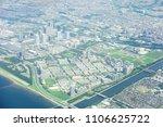 landscape of chiba city injapan | Shutterstock . vector #1106625722