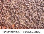 rough durable textured stucco... | Shutterstock . vector #1106626802