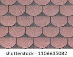 asphalt shingle as background | Shutterstock . vector #1106635082