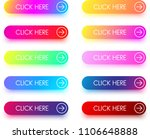 set of colorful click here... | Shutterstock .eps vector #1106648888