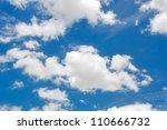 Cloud  With Blue Sky Backgroun...