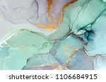 ink  paint  abstract. closeup... | Shutterstock . vector #1106684915