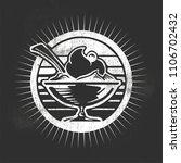 sundae vector illustration. | Shutterstock .eps vector #1106702432
