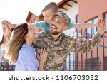 Male Soldier Reunited With His...