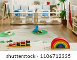 images of a montessori... | Shutterstock . vector #1106712335