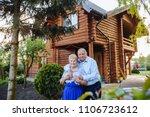 beautiful senior couple in love ...   Shutterstock . vector #1106723612