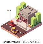 vector isometric small clothing ... | Shutterstock .eps vector #1106724518