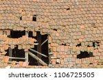 Old Broken Roof  Beavertail...