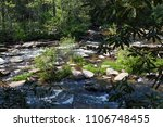 mountain river with stones and... | Shutterstock . vector #1106748455