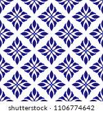 ceramic pattern motif style ... | Shutterstock .eps vector #1106774642