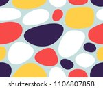 abstract geometric pattern with ... | Shutterstock .eps vector #1106807858