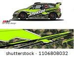 car graphic background vector. ...   Shutterstock .eps vector #1106808032
