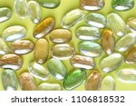 transparent colored stones for... | Shutterstock . vector #1106818532