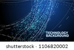abstract vector background with ...   Shutterstock .eps vector #1106820002