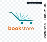 bookstore vector icon isolated... | Shutterstock .eps vector #1106824886