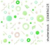 watercolor geometric background | Shutterstock . vector #1106856125