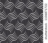 vector seamless pattern.... | Shutterstock .eps vector #1106871722