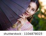 elegant thai women asian woman...   Shutterstock . vector #1106878025