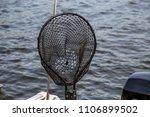 fishing net close up water lake ...   Shutterstock . vector #1106899502