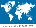 color world map vector | Shutterstock .eps vector #1106911376
