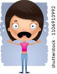 a cartoon illustration of a... | Shutterstock .eps vector #1106913992