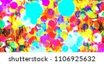 abstract colorful background... | Shutterstock . vector #1106925632