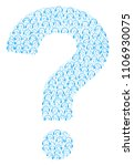 answer mosaic composed of... | Shutterstock .eps vector #1106930075