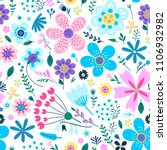 Amazing Floral Vector Seamless...