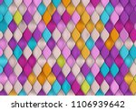 Bright Colorful Background Wit...