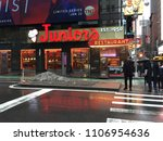 manhattan  new york january 15  ... | Shutterstock . vector #1106954636