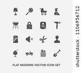 modern  simple vector icon set...   Shutterstock .eps vector #1106956712