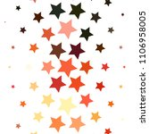 star colorful background.... | Shutterstock . vector #1106958005