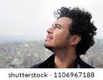 portrait of turkish popstar... | Shutterstock . vector #1106967188