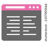 creative design of programming ... | Shutterstock .eps vector #1107005666