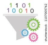 programming language of... | Shutterstock .eps vector #1107005762
