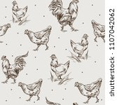 Seamless Pattern With Feathers...