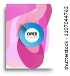 abstract colorful background... | Shutterstock .eps vector #1107044762