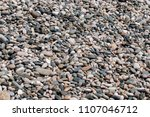 pebble texture background | Shutterstock . vector #1107046712