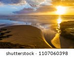coast of the north island of...   Shutterstock . vector #1107060398