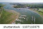 aerial view of boats on the...   Shutterstock . vector #1107110375