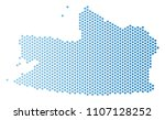 hex tile kaliningrad region map....   Shutterstock .eps vector #1107128252