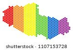 a dotted lgbt tibet chinese... | Shutterstock .eps vector #1107153728