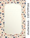 american patriotic background.... | Shutterstock .eps vector #1107199166