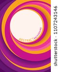 vector abstract background...   Shutterstock .eps vector #1107243146