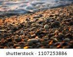 Pebble Stones On The Sea Beach...