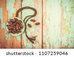 date palm fruit or kurma  ... | Shutterstock . vector #1107259046