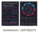 business infographics brochure... | Shutterstock .eps vector #1107282272