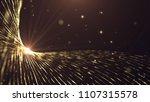 gold stage background. elegant... | Shutterstock . vector #1107315578
